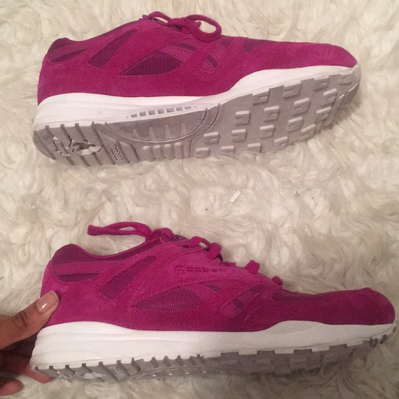 Womens Sneakers Pink Purple Color Size